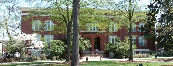 Photo of Admissions building