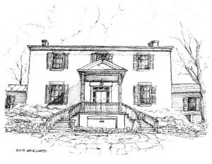 Sketch of Founders House