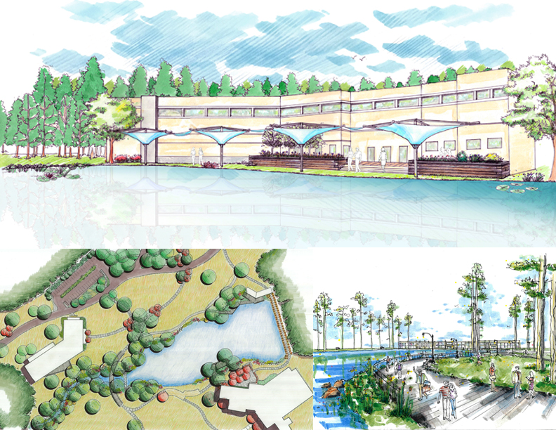 East georgia state college master plan process second for Design criteria of oxidation pond