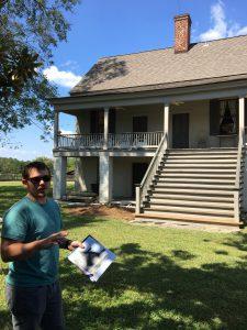 SHPO Visits the Hurt-Rives Plantation
