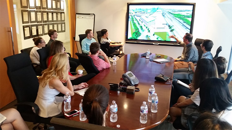MLA Student Get the Scoop on Daily Tasks at HGOR Landscape Architecture Firm