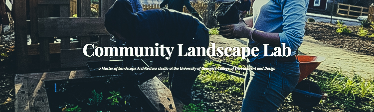 Community Landscape Lab Studio Engages in Service-Learning