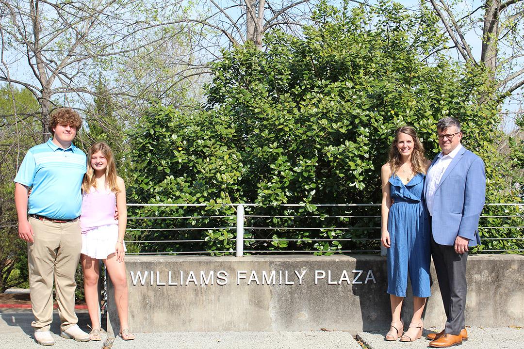 The Williams Family Plaza Charrette