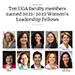 Ten UGA faculty members named 2021-2022 Women's Leadership Fellows