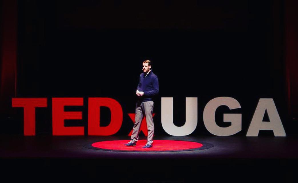 MLA James Shulte at TEDXUGA