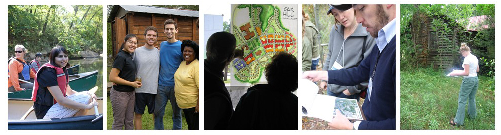montage of outreach images