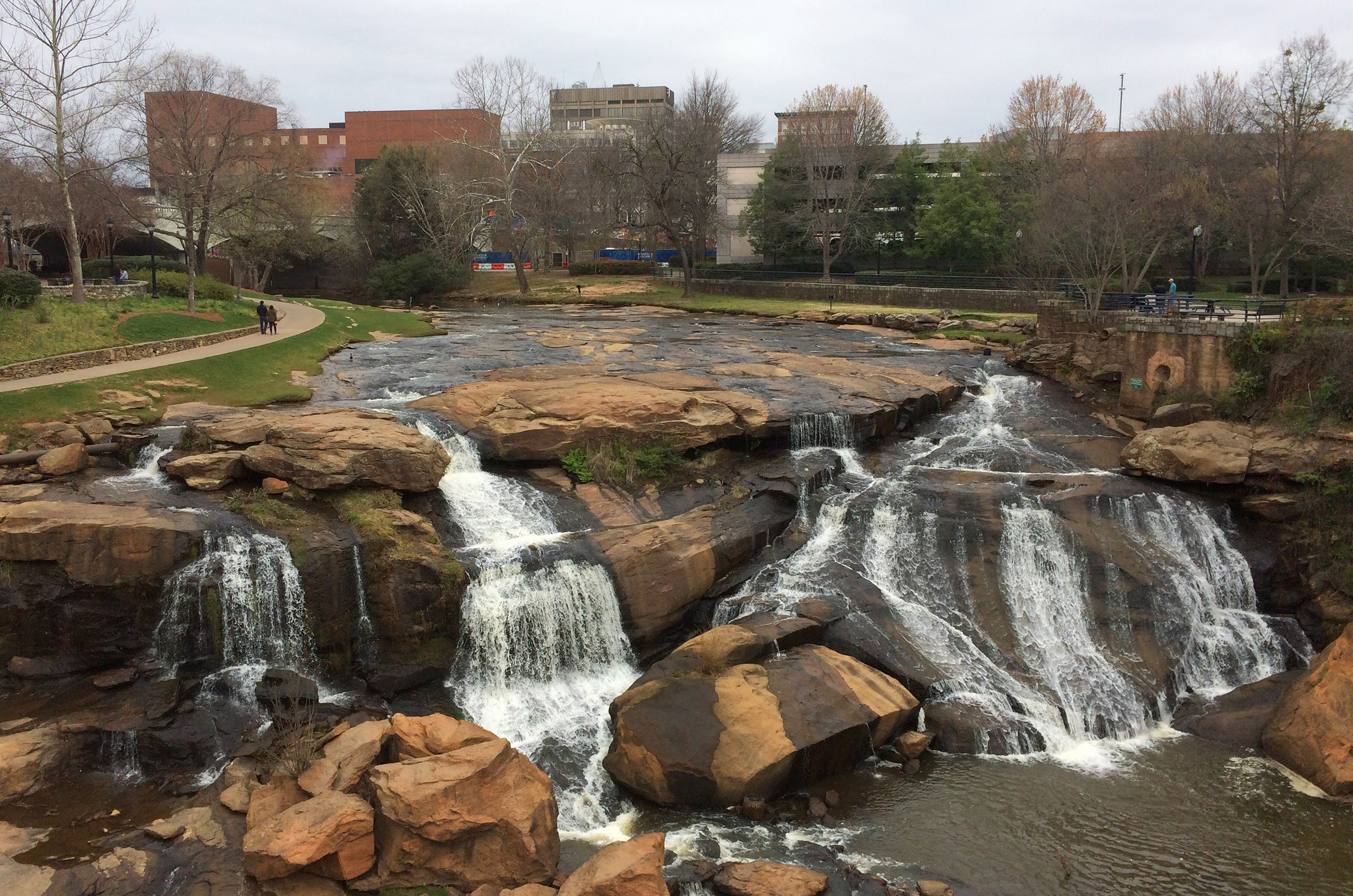 Mla Students Tour Downtown Greenville, South Carolina