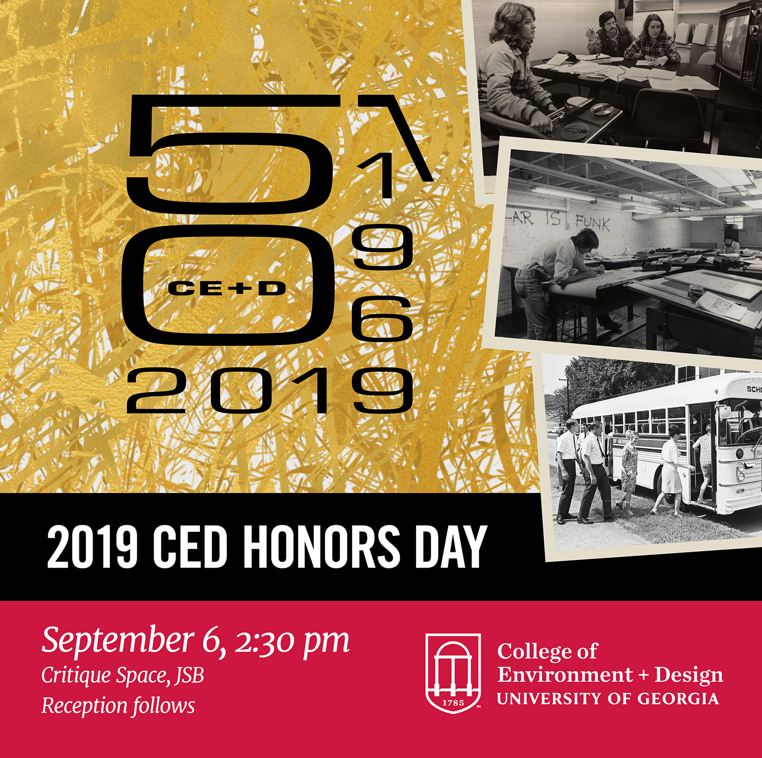 2019 CED Honors Day