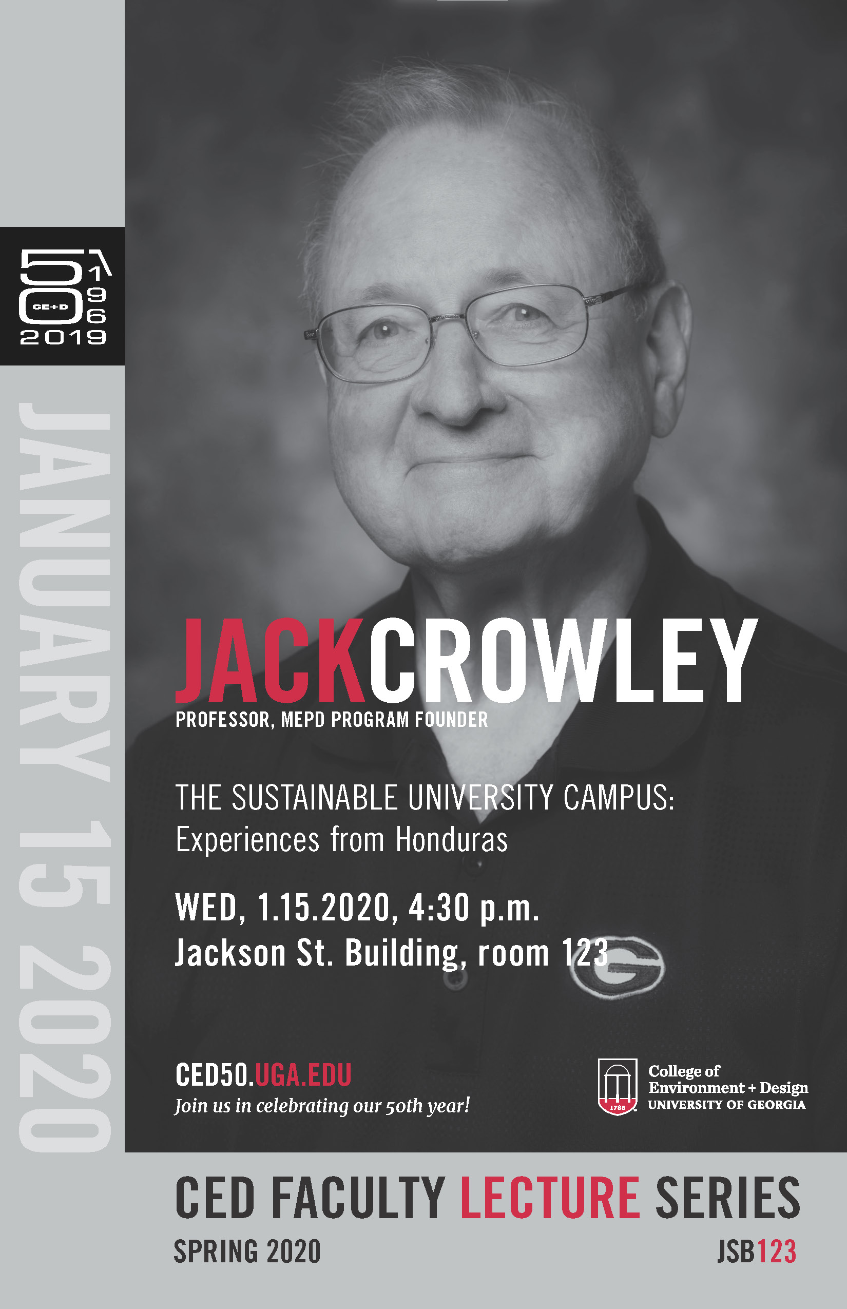 Crowley lecture poster