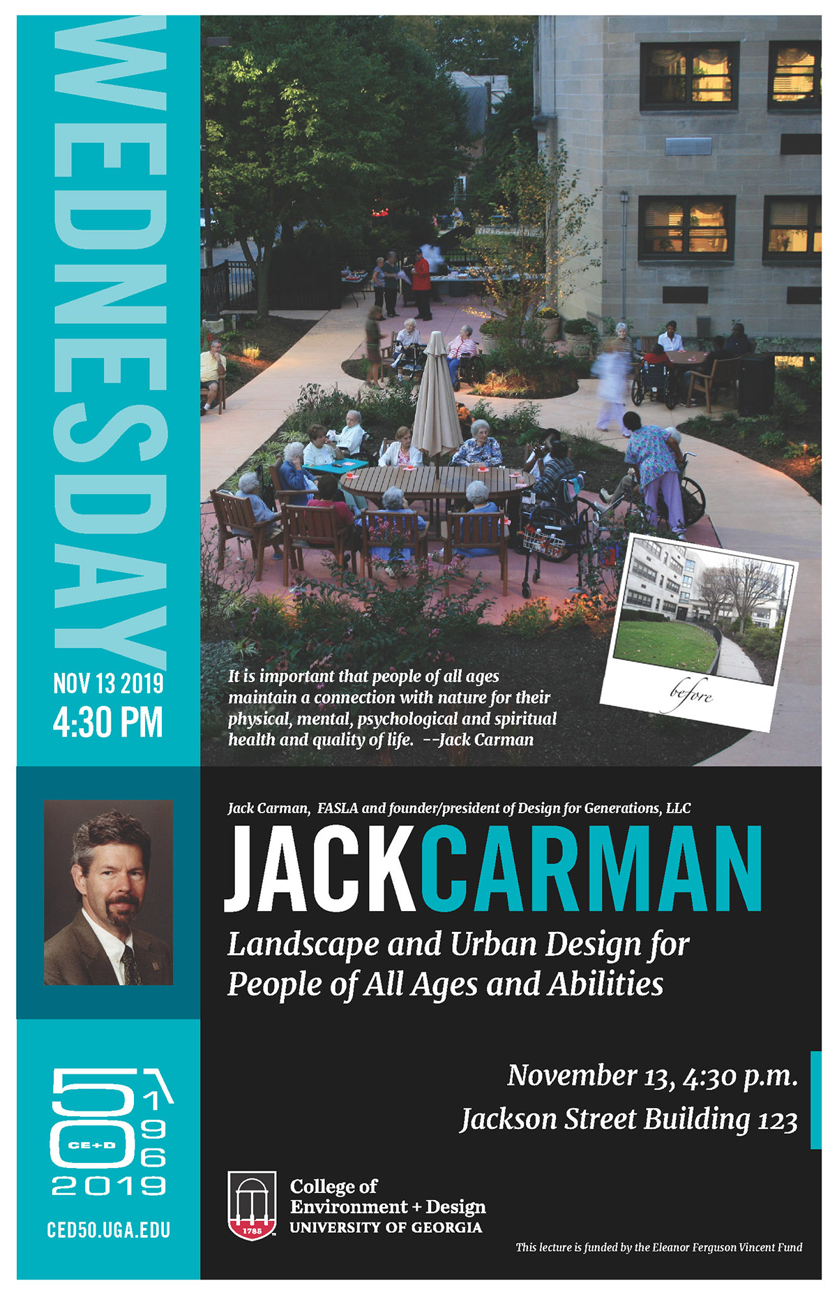 carman lecture poster