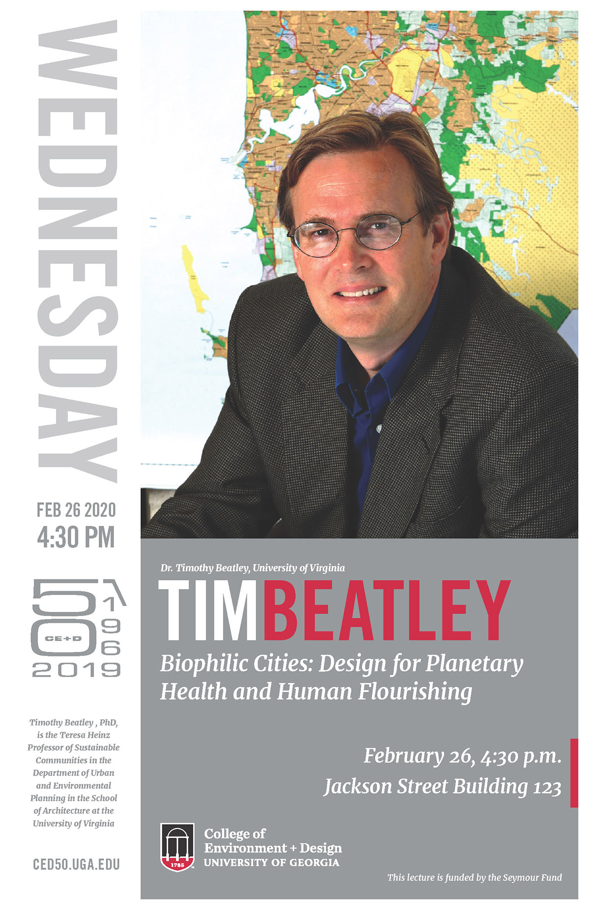 Beatley lecture poster