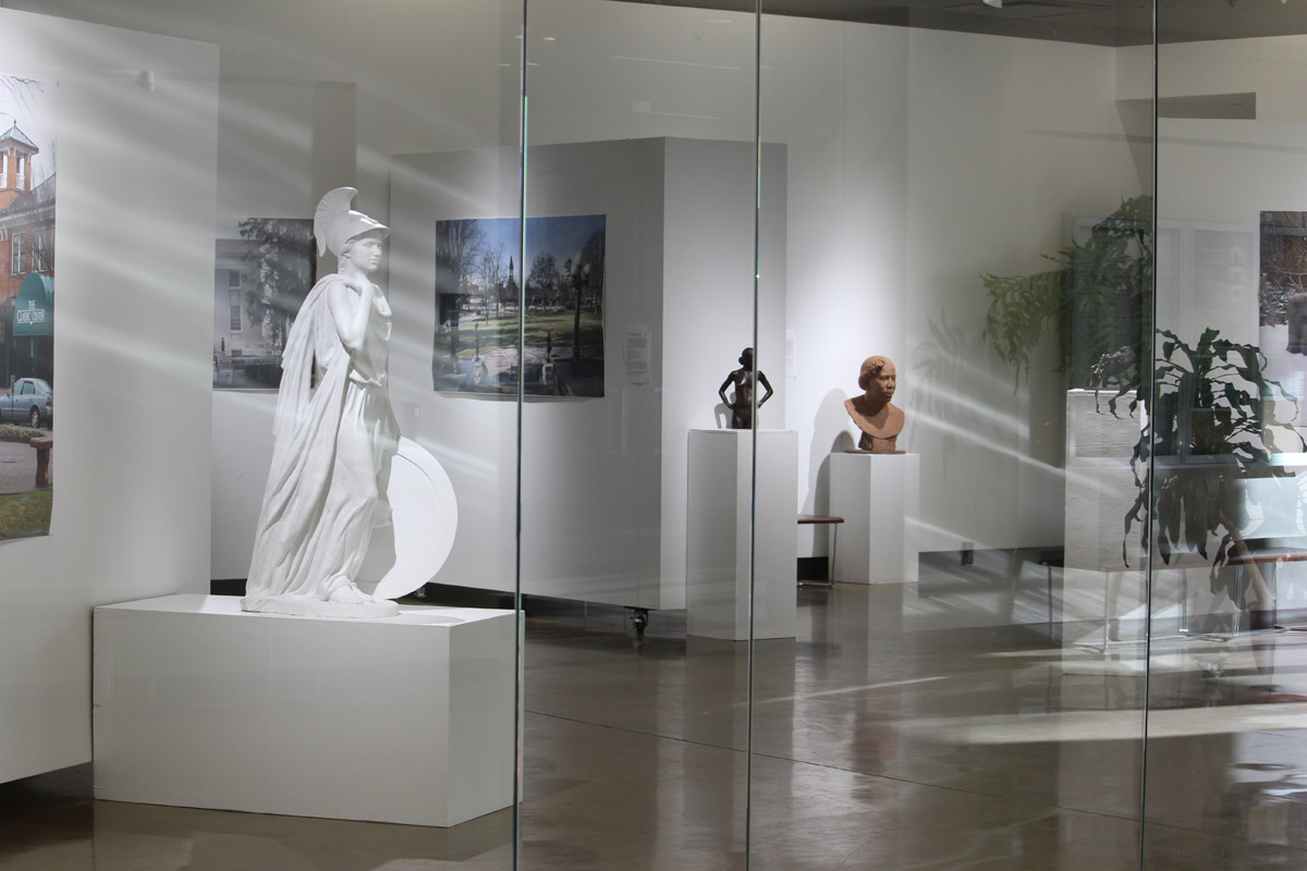 view of gallery with Westamcott exhibit